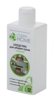 CLEAN HOME Средство для уборки кухни концентрат 200мл.
