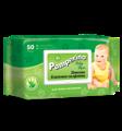 Pamperino №50 детские влажные салфетки с клапаном