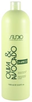 Kapous Studio Professional Шампунь для волос с маслами Авокадо и Оливы 1 л.