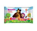 Влажные детские салфетки Маша и Медведь №20