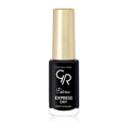Golden Rose Лак для ногтей Express Dry Nail №75 черный