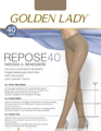 Колготки женские GOLDEN LADY Repose, 40 den (camoscio, 2)