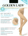 Колготки женские GOLDEN LADY My Secret, 8 den (sahara, 2)