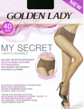 Колготки женские GOLDEN LADY My Secret, 40 den (melon, 5)