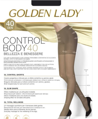 Колготки женские GOLDEN LADY Control Body, 40 den (melon, 5)