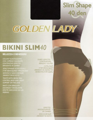 Колготки женские GOLDEN LADY Bikini Slim, 40 den (melon, 4)