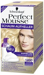 Осветлитель для волос perfect mousse от schwarzkopf